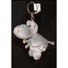 Ravensden Hippo Beanie Plush keyring